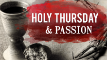 Holy Thursday Passion Service