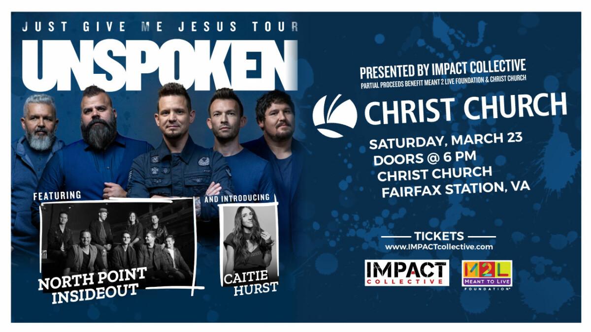Concert: JUST GIVE ME JESUS TOUR