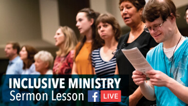 ONLINE: Inclusive Ministry Adapted Sermon Lesson