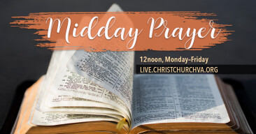 ONLINE: Mid-Day Prayer at Noon