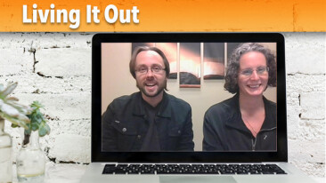 ONLINE! Living It Out with Pastor Tony and Jennifer Deschanel