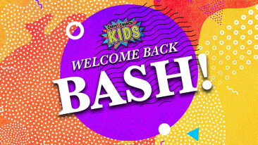 Kids' Ministry Welcome Back Bash RESCHEDULED!