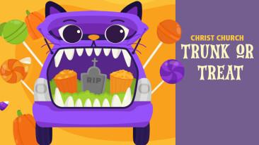 Christ Church Trunk or Treat